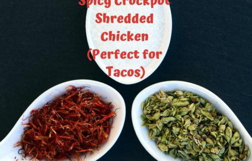 spicy crockpot shredded chicken